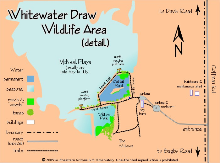 Whitewater draw wildlife area tales from a van tramp couple for Az game and fish draw results 2017
