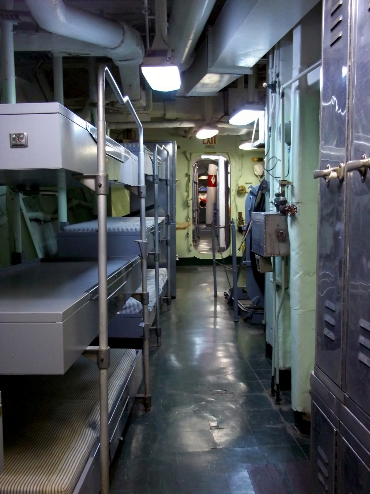 Navy Ship Engine Room: Tales Of A Vanlife Couple