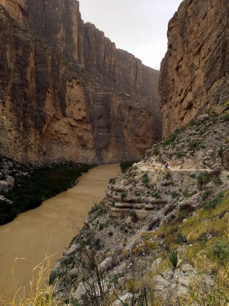 Big Bend Santa Elena Canyon Hike Tales Of A Vanlife Couple